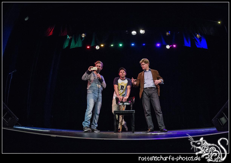 2016-10-14 Sitz grade! in Berlin