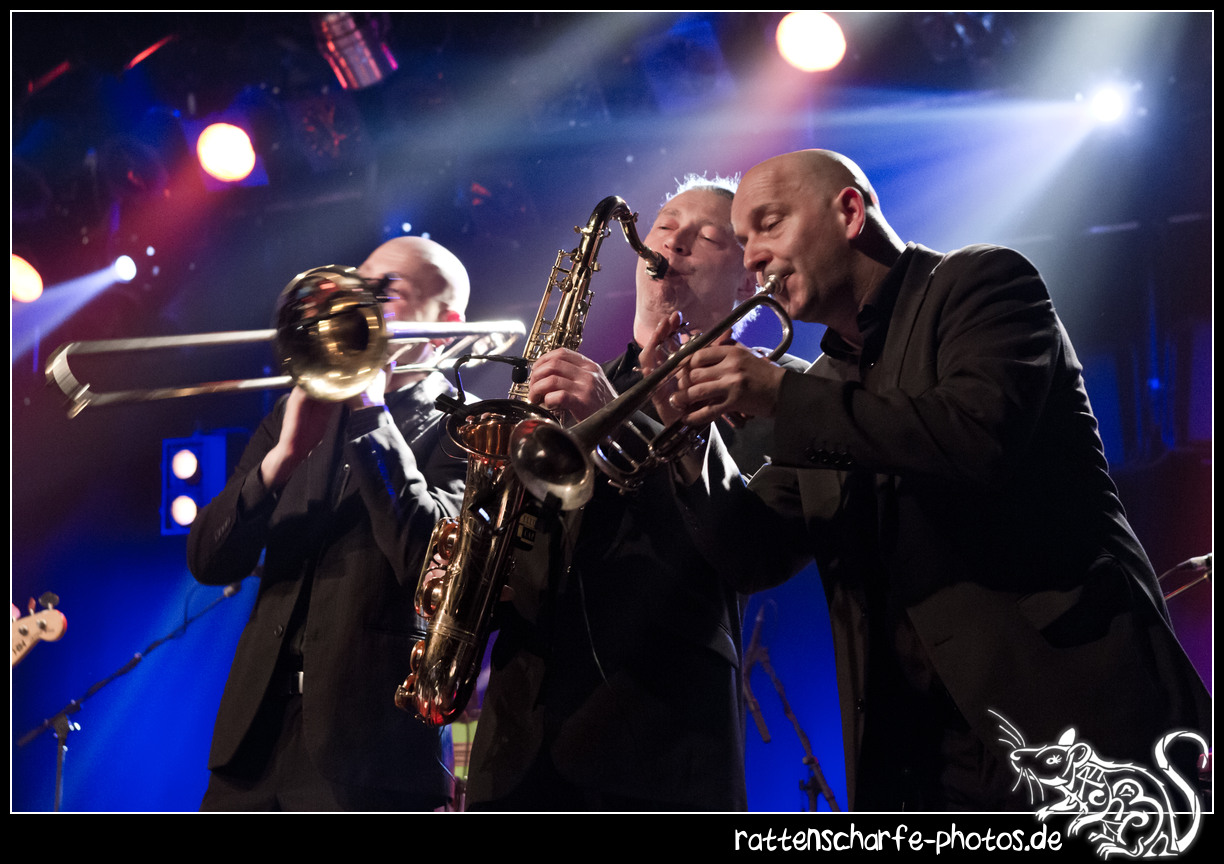 2015-02-25 Yellow Cap & Bad Manners in Berlin / SO36