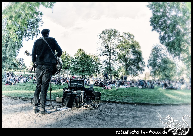 2016-08-17 Martin Goldenbaum in Berlin / Musik im Park