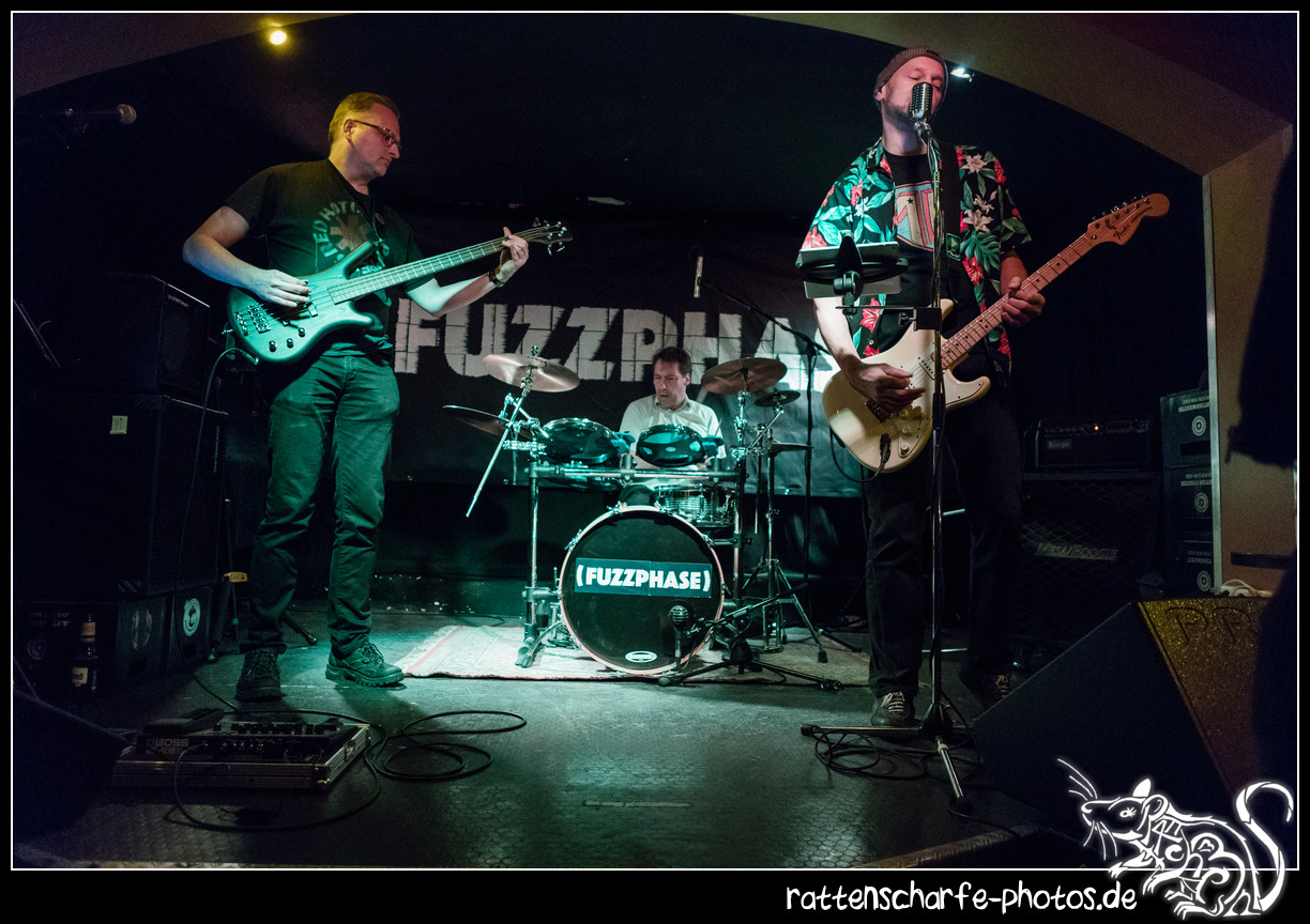 2019-02-08 FUZZPHASE in Berlin / Junction Bar