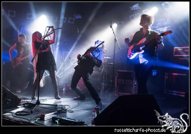 2018-09-02 Ally The Fiddle in Berlin / Nuke Club