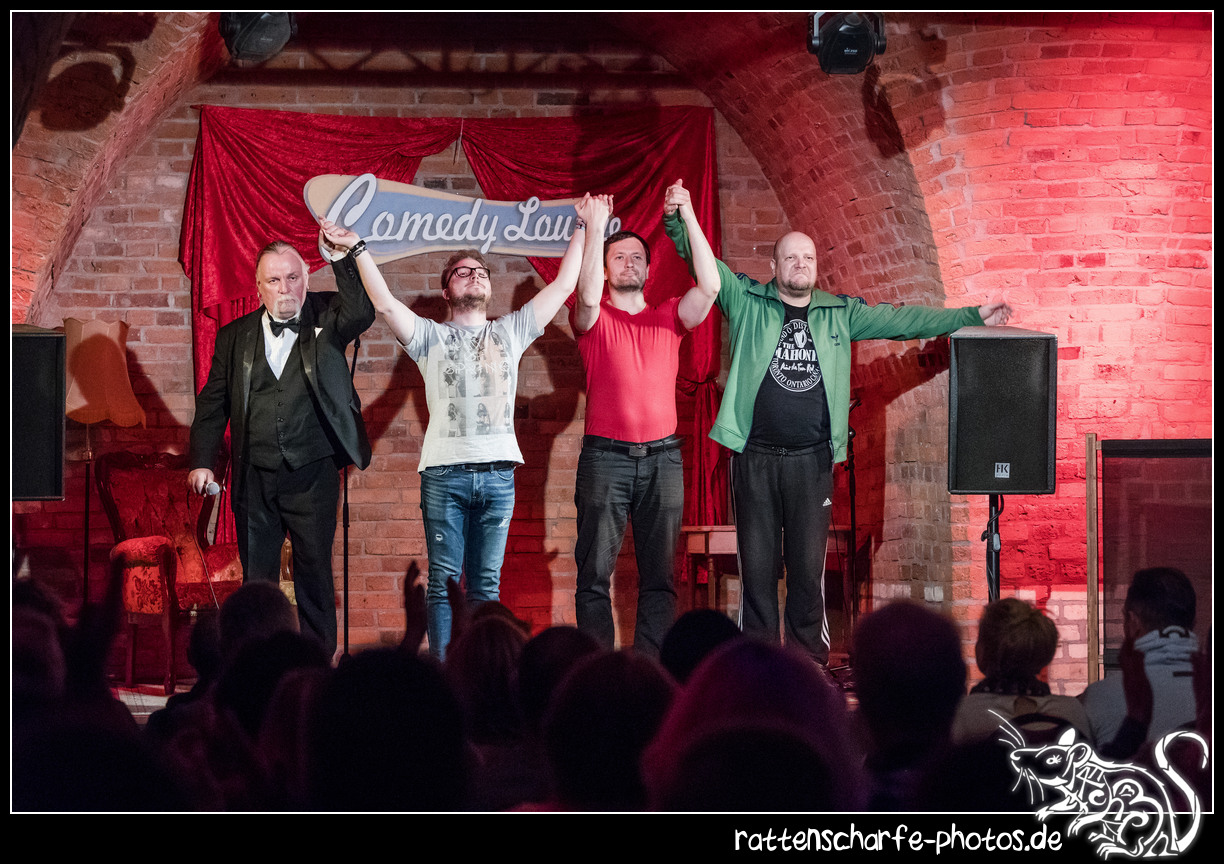 2018-11-06 Comedy Lounge in Magdeburg / Festung Mark